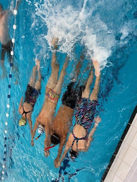 eerste zwemtraining 2020